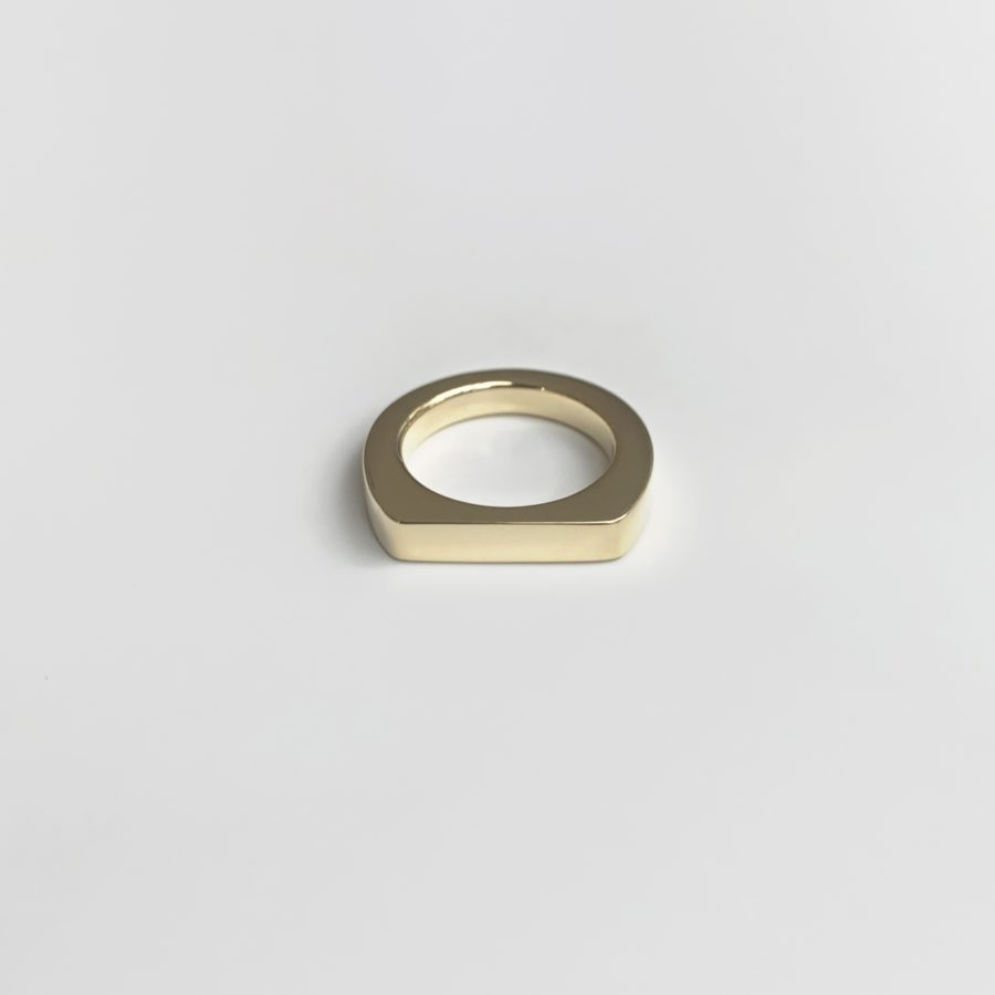 ID ring 06 gold