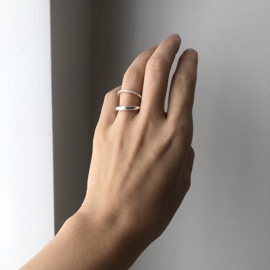 D earcuff ring
