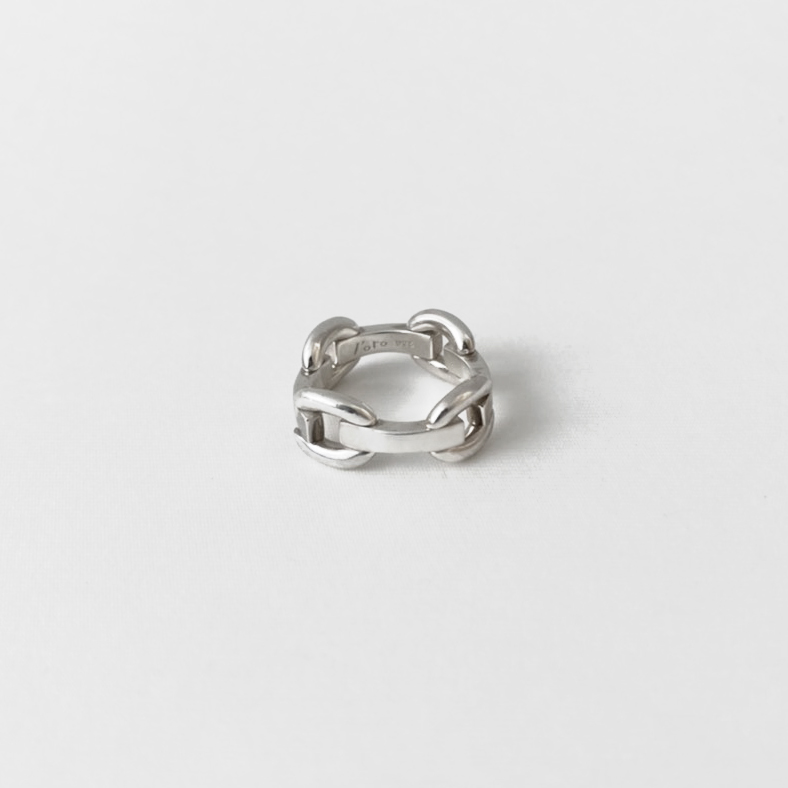 SQ chain pinky ring