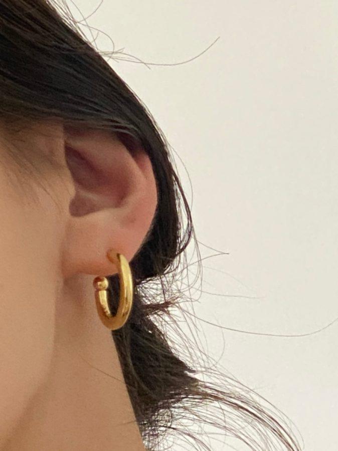 Hoop round pierce M