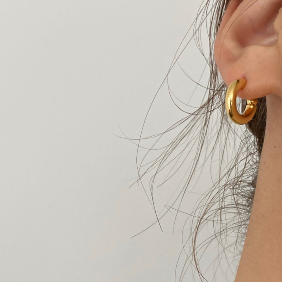 Hoop round pierce S